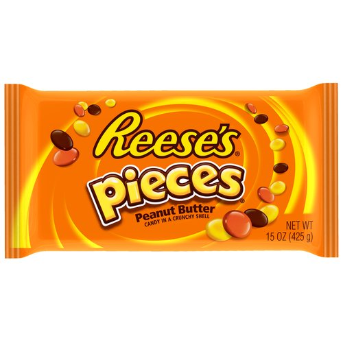 Reese's Pieces Peanut Butter Candy, 15 oz