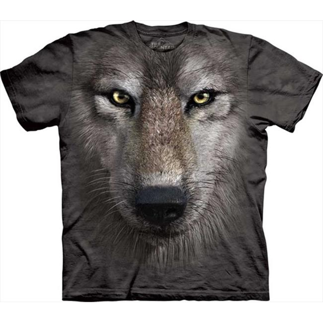 Mountain Corp Wolf Face - Kids T-Shirt