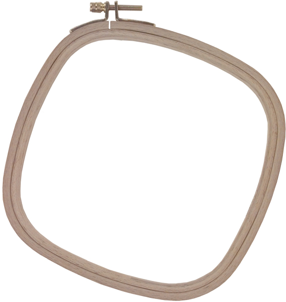 "Frank A. Edmunds Wood Embroidery Hoop 8""-"