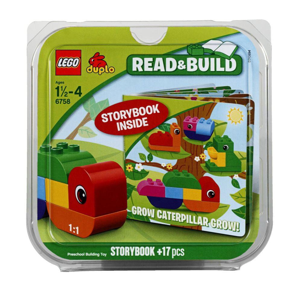 Lego Duplo Read & Build Grow Caterpillar Preschool Building Set 6758 & Storybook