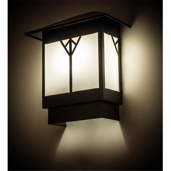 Meyda Tiffany 156314 12 in. Cumberland Wall Sconce - Miss...