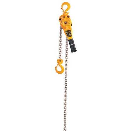 HARRINGTON LB010-5 Lever Chain Hoist, 2000 lb. Load Capacity, 5 ft. Hoist Lift