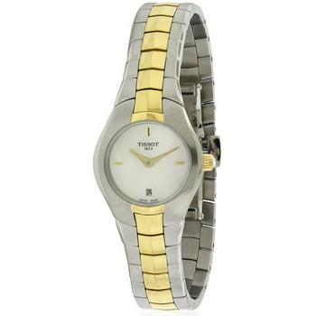 Tissot T-Round Quartz Women's Bracelet Watch