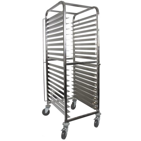 Vollum Front-Load Knock Down Bakery Rack All Stainless, for Full Size Sheet Pans For 20 trays