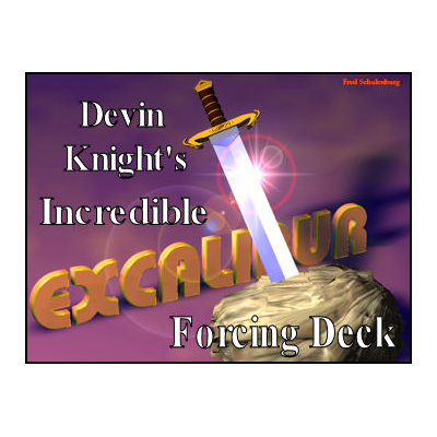Excalibur Deck (BLUE) by Devin Knight Trick by Illusion Concepts - Devin Knight