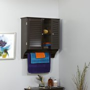 RiverRidge Ellsworth 2-Door Wall Cabinet - Espresso