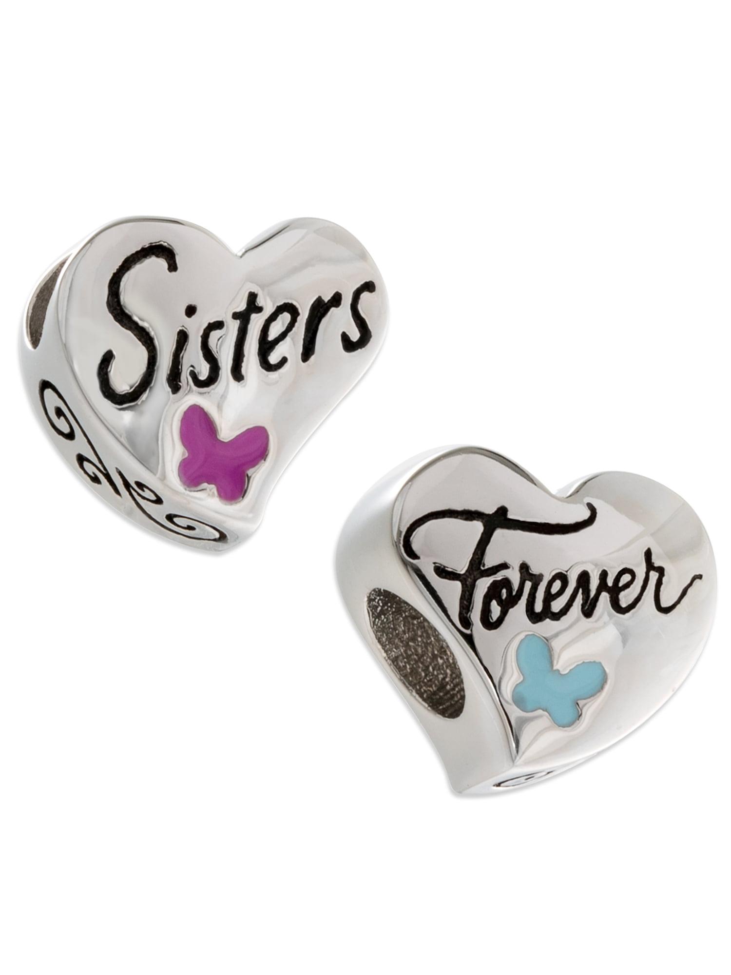 pandora double sister charm