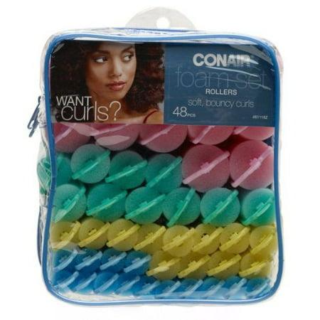 - Conair 61118 Conair Foam Rollers, 48PCS