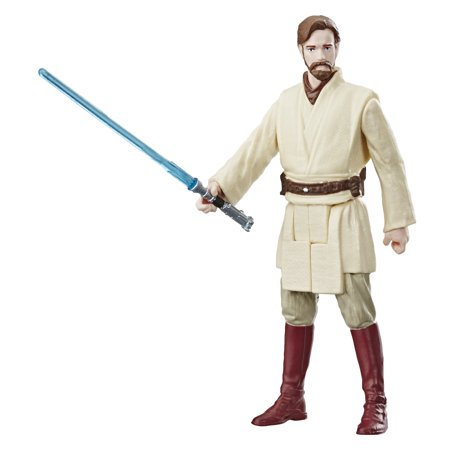 Star Wars Galaxy of Adventures Obi-Wan Kenobi 3.75-Inch Figure