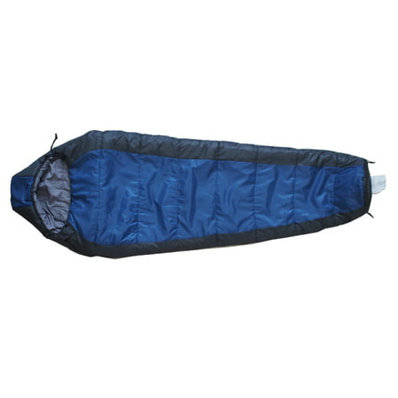 Ozark Trail 30F Synthetic Mummy Sleeping Bag - Shark Plush Sleeping Bag