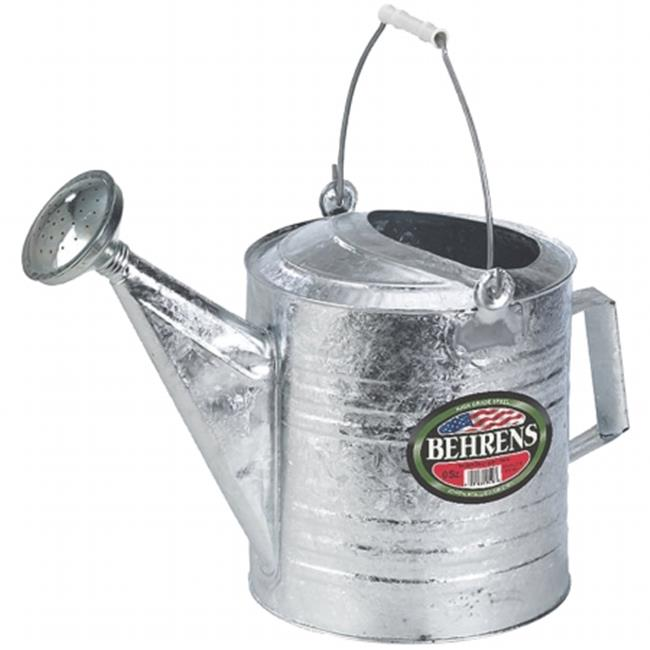 Behrens Manufacturing - Galvanized Hot Dipped Watering Can- Steel 12 Quart - 212W