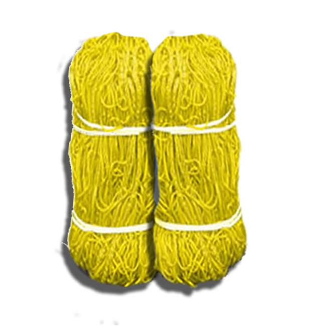 Jaypro Sports SN-40Y 8 x 24 Official Size Soccer Net - 4mm Braid - Yellow