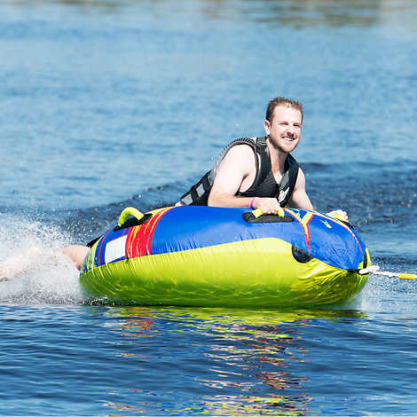 HO Sports Shock 1-person Towable 50� Diameter When Inflated by