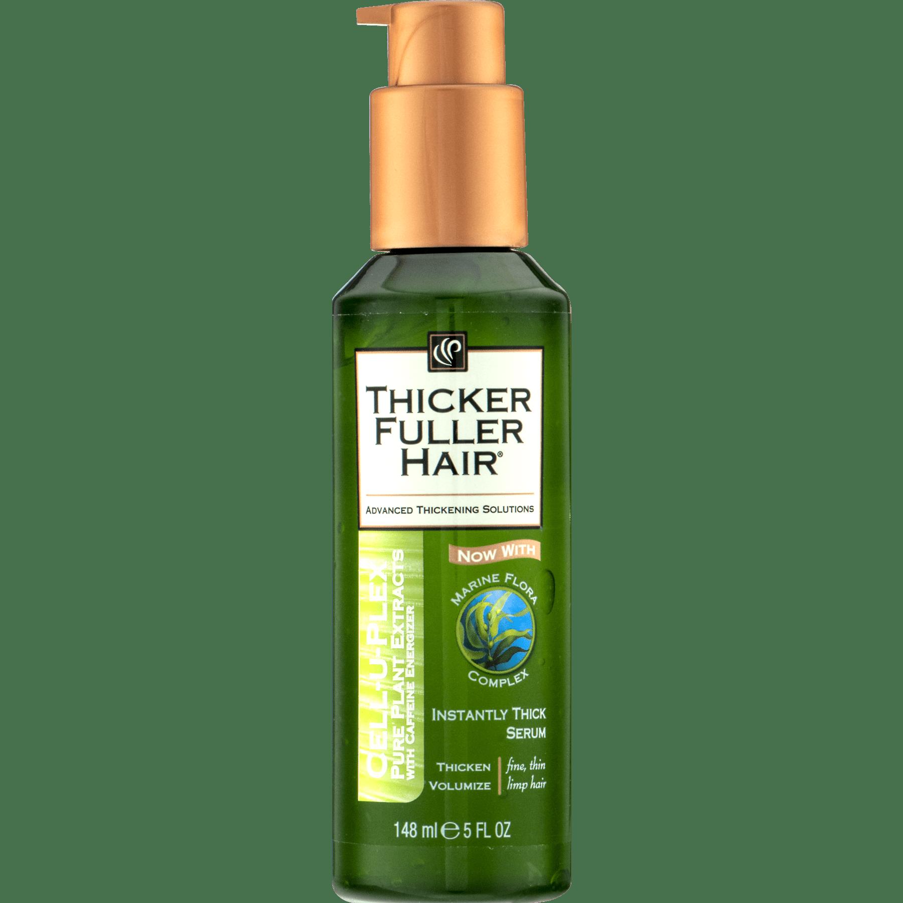 Thicker Fuller Hair Instantly Thick Hair Serum 5 Fl Oz Walmart