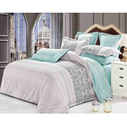 Swanson Beddings Beach 3-Piece Bedding Set: Duvet Cover and Two Pillow Shams (California King)