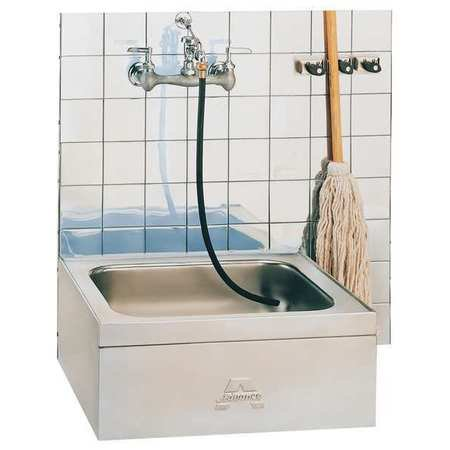 ADVANCE TABCO Mop Sink,304 stainless steel ,21 In L 9-OP-20