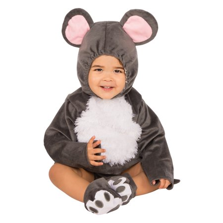 Infant Grey Mouse Costume - Infant Moose Costume