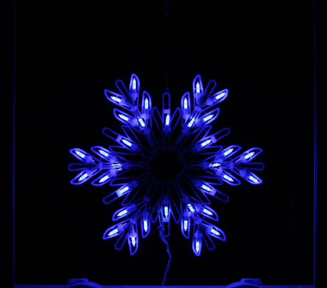 15 blue led lighted snowflake christmas window silhouette for 30 lighted nativity christmas window silhouette decoration