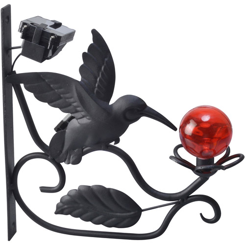 Moonrays 91267 Solar Powered LED Hummingbird Plant Bracket
