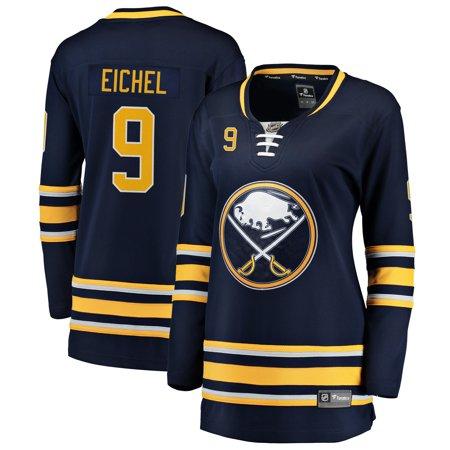 Women's Buffalo Sabres Jack Eichel Fanatics Branded Navy Breakaway Player (Chivas Away Jersey)