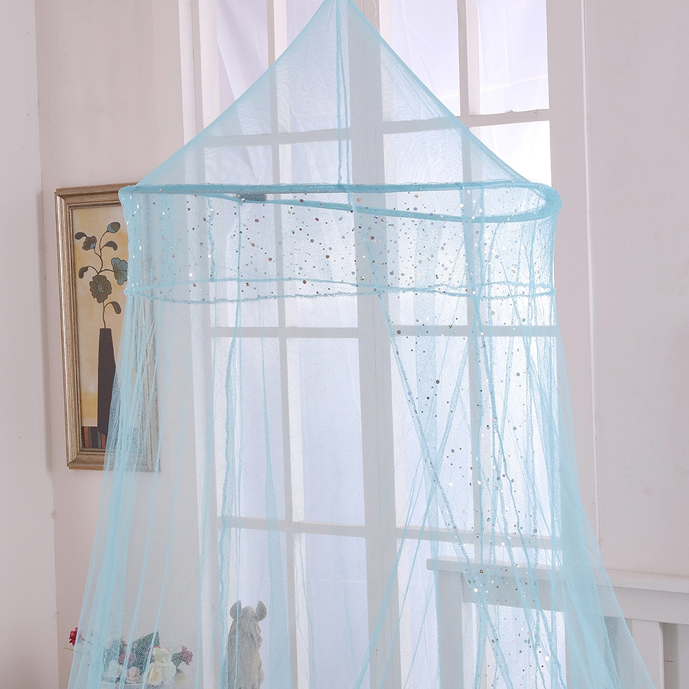Epoch Hometex, Inc. Sheer Galaxy Collapsible Hoop Kids Bed Canopy