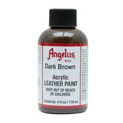 Angelus® Acrylic Leather Paint, 4 oz., Dark Brown