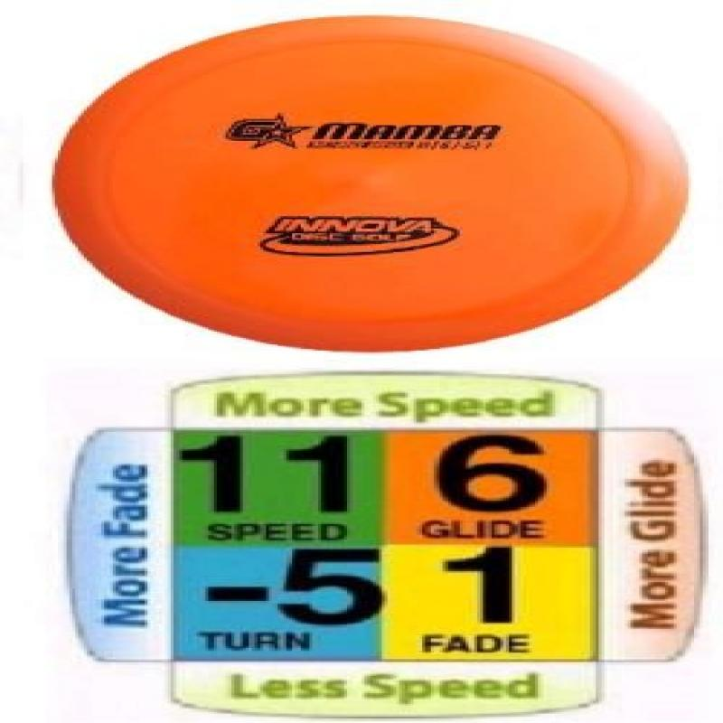 Mamba G Star Plastic Distance Driver Disc Golf [Sports] by