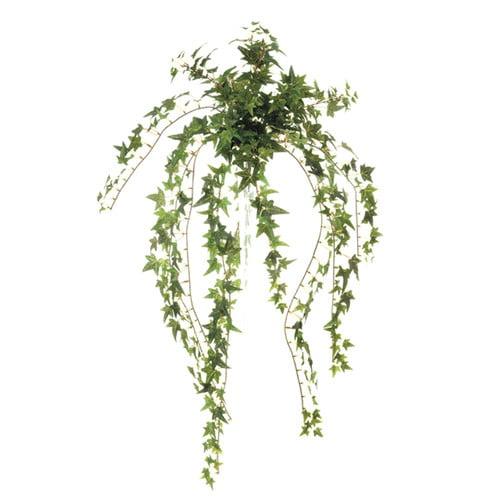 Distinctive Designs DIY Foliage Artificial Mini Pittsburgh Ivy Bush Hanging Plant (Set
