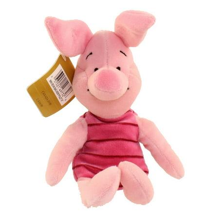 Disney Bean Bag Plush - NEW PIGLET (Winnie the Pooh) (8 inch)