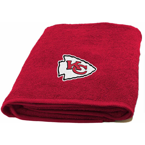 NFL Applique Bath Towel, Chiefs