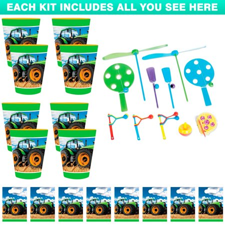 Tractor Time Favor Kit (For 8 Guests) - Tractor Favors