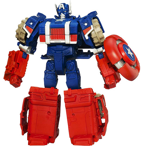Marvel Transformers Crossovers - Captain America
