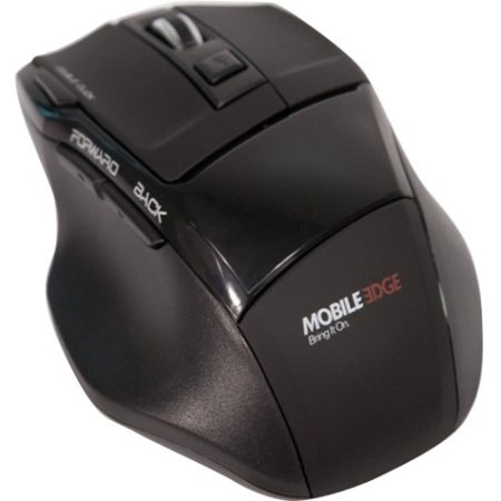 Mobile Edge MEAM07 USB Wireless Optical 7-Button Mouse