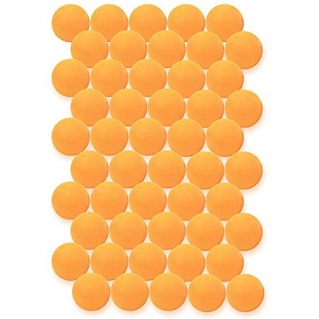 Click N Play Value Pack Of 50 Orange 3 Star Premium Ping