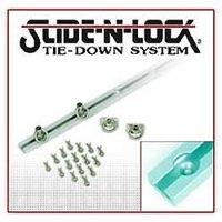 "Hi-Lift (BXR93S) Slide-N-Lock Tie Down System, 93"", Clear"
