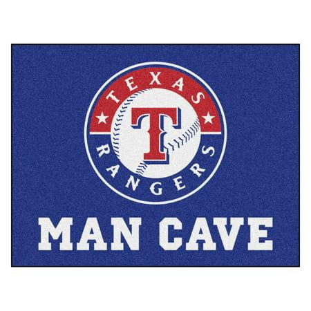 "MLB - Texas Rangers Man Cave All-Star Mat 33.75""x42.5"""
