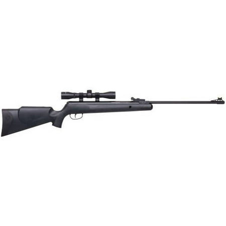 Crosman CPNP22SX Phantom NP Synthetic Stock Nitro Piston Hunting Air Rifle with 4x32 Scope, (Best 22 250 Rifle On The Market)