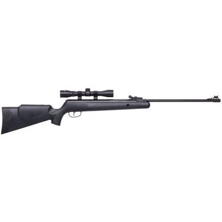 Crosman CPNP22SX Phantom NP Synthetic Stock Nitro Piston Hunting Air Rifle with 4x32 Scope, (223 Rem Rifles)