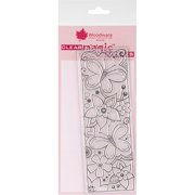 """Woodware Clear Stamps, 3"""" x 7.5"""" Sheet"""