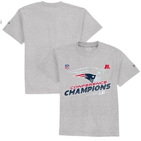 New England Patriots NFL Pro Line by Fanatics Branded Preschool 2017 AFC Champions Trophy Collection Locker Room T-Shirt - Heather Gray](New England Halloween 2017)