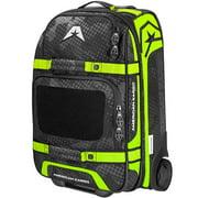 American Kargo Carry-On Roller Gear Bag Hi-Vis Yellow