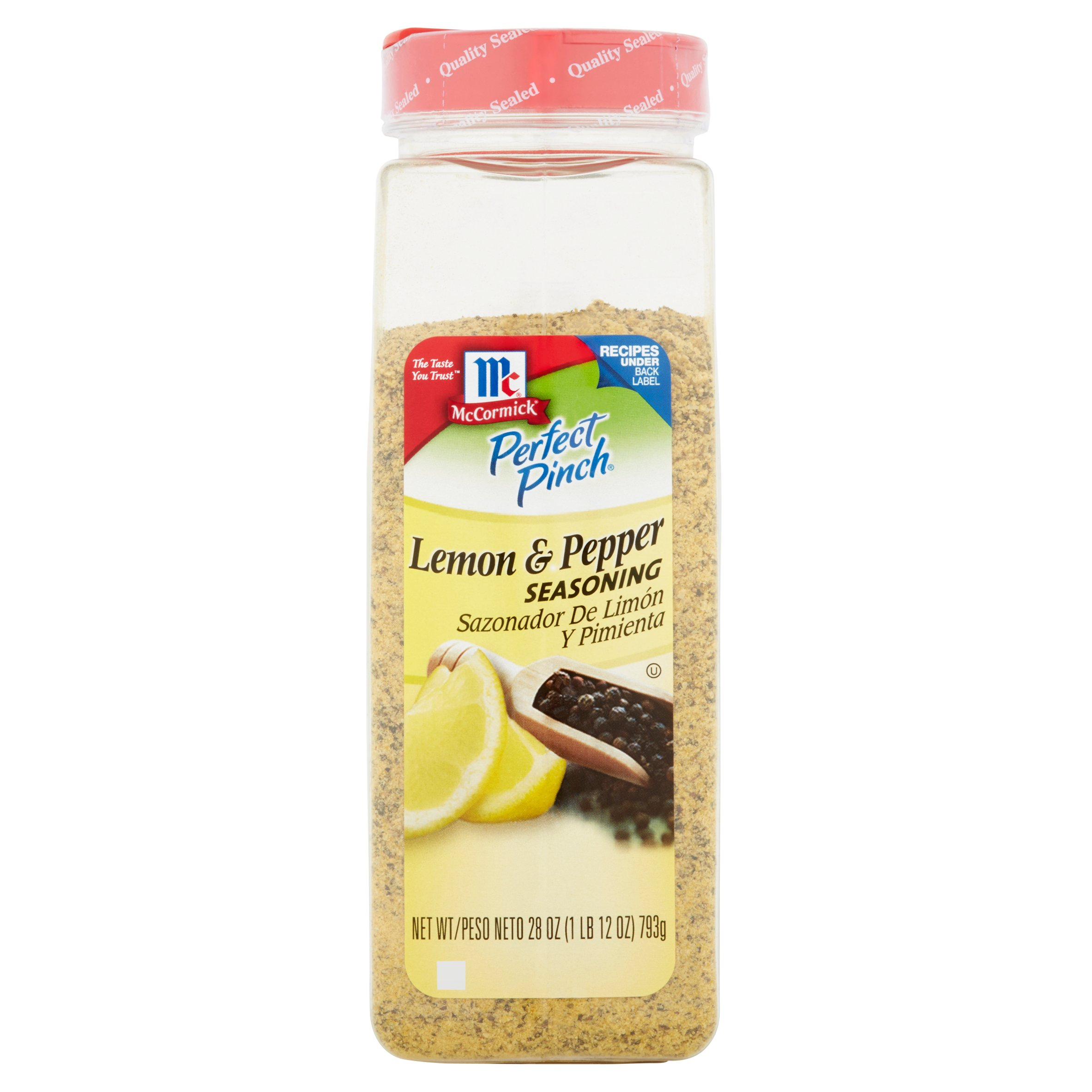 McCormick Perfect Pinch Lemon & Pepper Seasoning 28oz