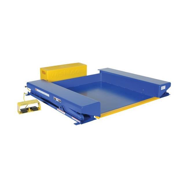 Vestil EHLTG-4450-2-36 Ground Lift Scissor Table, 44 x 51...