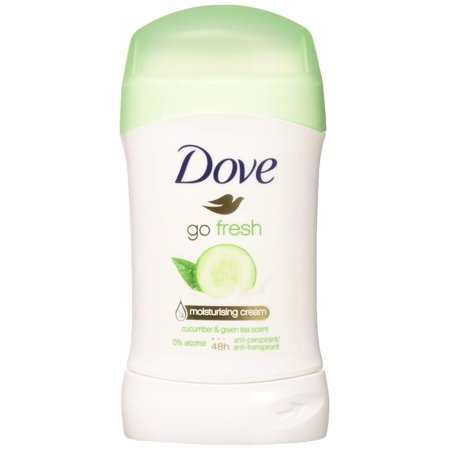 Dove Go Fresh Cucumber & Green Tea Scent, Antiperspirant & Deodorant Stick, 1.4 Oz/40 Ml (Pack of (Dove Scent)