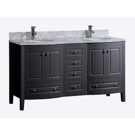 Incredible Golden Elite Porto 72 Double Bathroom Vanity Set Walmart Com Interior Design Ideas Pimpapslepicentreinfo
