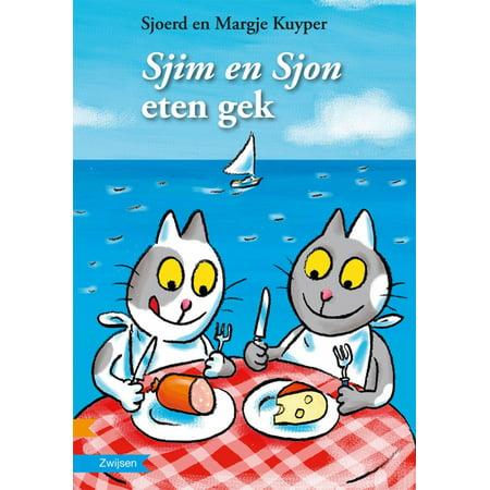 Sjim en Sjon eten gek - eBook - Halloween Eten