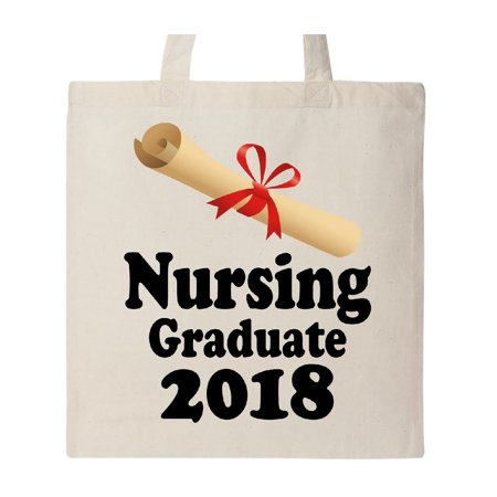 Nursing Graduate 2018 Gift Tote Bag Natural One Size