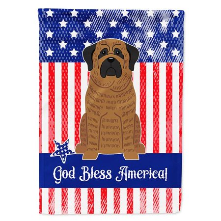 Carolines Treasures BB3010CHF Patriotic USA Mastiff Brindle Flag Canvas House Size - image 1 of 1