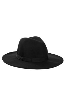 Scoop Ultimate Wide Brim Velour Fedora Women's