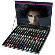 SHANY Multi-Use Chunky Pencils for Eye Shadow, Eyeliner, Lip Liner, Lipstick - W/ Vitamin E & Aloe Vera - Set of 30 Colors
